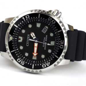 Citizen BN0150-28E Promaster Diver Quartz Stainless Steel Polyurethane Band Watch
