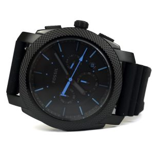 Fossil FS5323 Black IP Case Black Dial Chronograph Watch