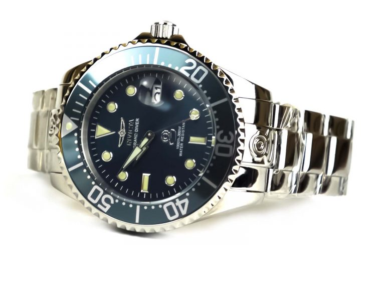 Invicta 18160 Grand Diver Analog Japanese Automatic Stainless Steel Watch