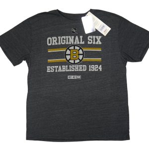 CCM Original Six Boston Bruins Tee Grey