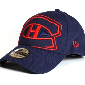 Cap New Era NHL Montreal Canadiens Big Logo Blue