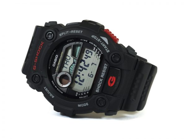 Casio G-7900-1 G-Shock Moon Phase Tide Graph Watch
