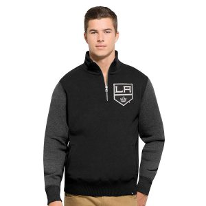 47 Brand NHL Los Angeles Kings Pullover Black
