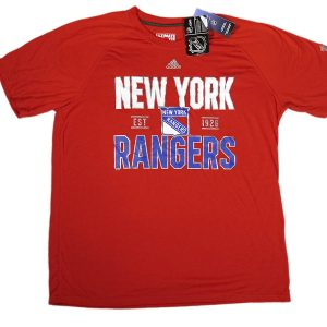 Adidas NHL New York Rangers Tee Red