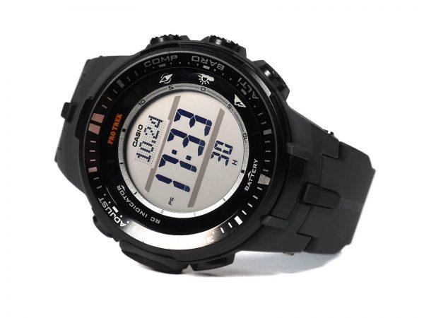 Casio PRW-3000-1CR Protrek Triple Sensor Multi-Function Watch