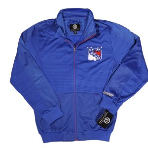 G-III NHL New York Rangers Full Zip Track Jacket Blue