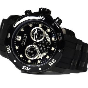 Invicta 6986 Pro Diver Collection Chronograph Black Watch