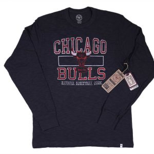 47 Brand Chicago Bulls Long Sleeve Scrum Tee