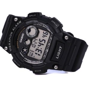 Casio W-735H-1AV Vibration Alarm Watch