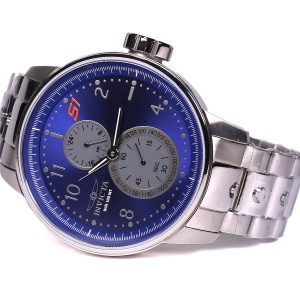 Invicta 23062 S1 Rally Quartz Stainless Steel Blue Dial Watch