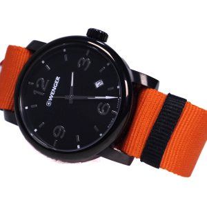 Wenger 011041131 Orange Band Watch