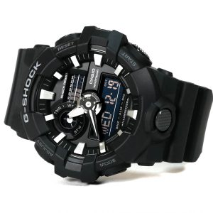 Casio GA-700-1BCR G-Shock Digi-Analog Watch