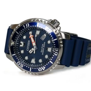 Citizen BN0151-09L Eco-Drive Promaster Diver Blue Dial 200 m watch