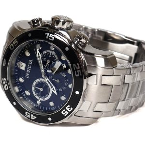 Invicta 0069 Pro Diver Collection Stainless Steel Watch_