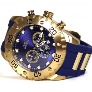 Invicta 20280 Pro Diver Gold Tone Blue Dial Watch