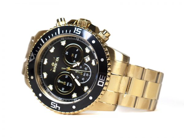 Invicta 21893 Gold Tone Watch