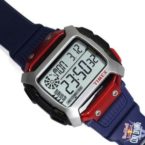 Timex Tw5M20800 Command™ X Red Bull® Cliff Diving Resin Strap Watch