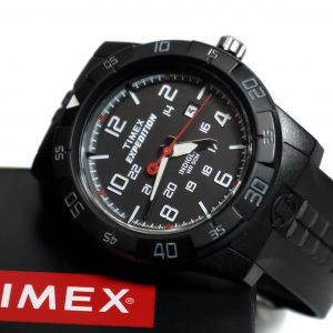 Timex T49831 Expedition Rugged Analog Black Resin Strap Watch