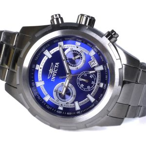 Invicta 1560 II Collection Blue Dial Chronograph Watch