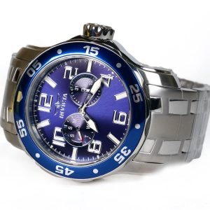Invicta 17496 Pro Diver Blue Dial Quartz Silver Watch
