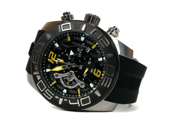Invicta 22809 Pro Diver Quartz Stainless Steel and Silicone Casual Watch