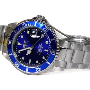 Invicta 9204OB Pro Diver Blue Dial Quartz Silver Watch