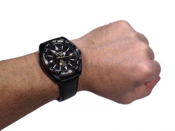 Seiko SUN057 GMT X Prospex Kinetic Watch
