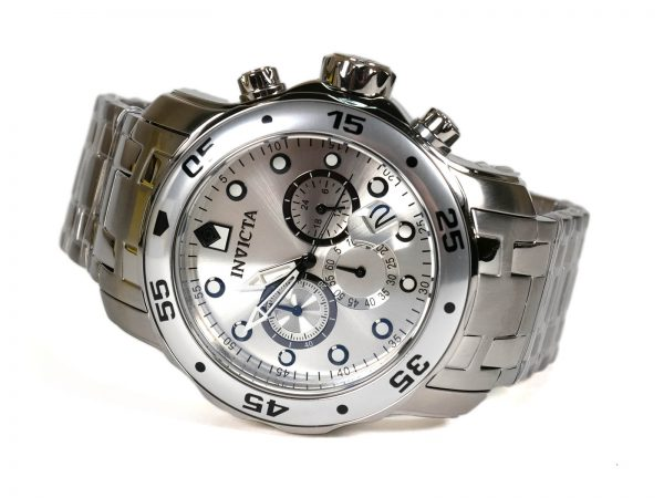 Invicta 0071 Pro Diver Collection Chronograph Stainless Steel Watch