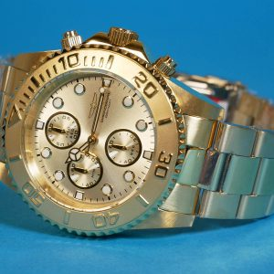Invicta 1774 Pro-Diver Collection 18k Gold Ion-Plated Stainless Steel Watch