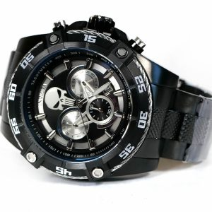 Invicta 26862 Marvel Quartz Black IP Watch