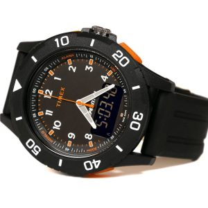 Timex Tw4B16700 Expedition Digi-Analog Black Watch