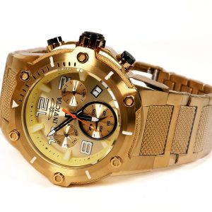 Invicta 19529 Speedway Gold Tone Swiss Quartz Movement Watch