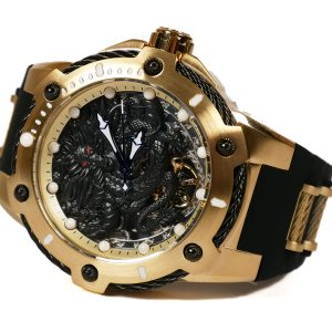 Invicta 26315 Bolt Mechanical 3 Hand Gold Watch