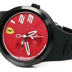 Ferrari 830473 FXX Red Dial Silicone Strap Watch