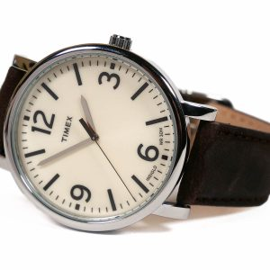 Timex Originals T2P526 Brown Leather Analog Quartz Dress Watch