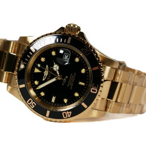 Invicta 26975 Pro Diver Gold Tone Black Dial Watch