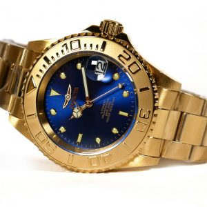 Invicta 26997 Pro Diver Gold Tone Blue Dial Automatic Watch